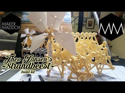 ▲ Strandbeest Build Kit