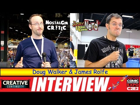 Nostalgia Critic and Angry Video Game Nerd: Doug Walker and James Rolfe - S3E15 Creative Continuity