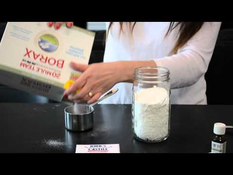 How to Make Eco-Friendly Washing Detergent With White Vinegar : Green Living Tips