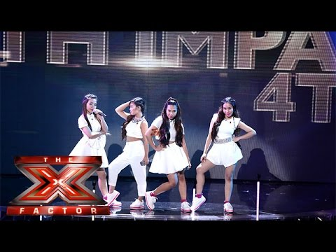 Live Shows? No Problem for 4th Impact | Live Week 1 | The X Factor 2015