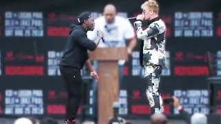 DEJI VS JAKE PAUL PRESS CONFERENCE HIGHLIGHTS