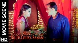Aishwarya wants Salman to say 'I Love You' | Hum Dil De Chuke Sanam | Movie Scene