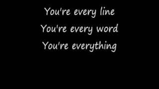 Everything with Lyrics Michael Buble
