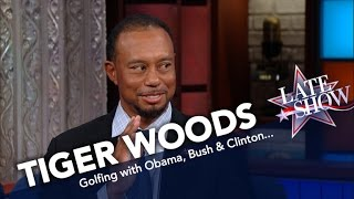 Tiger Woods Gives Presidential Golf Reviews