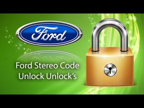 How to Find Ford Stereo Code Using Serial No.