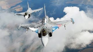 Gripen fighter jet faster and better than F-35 lightning ii