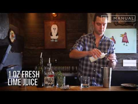 The Manual Bartender - How To Make A Salty Raccoon