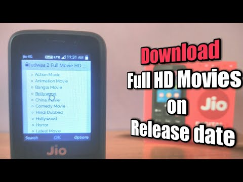 Download latest movies on Jio Phone on release date (2018) ✓