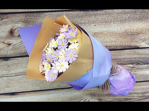 ABC TV | How To Make A Daisy Paper Flower Bouquet - Craft Tutorial