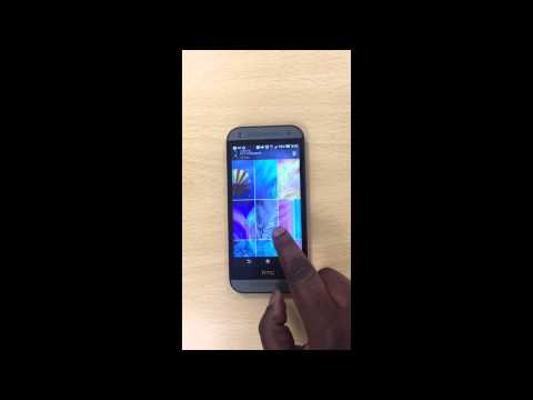 How to change wallpaper on HTC device