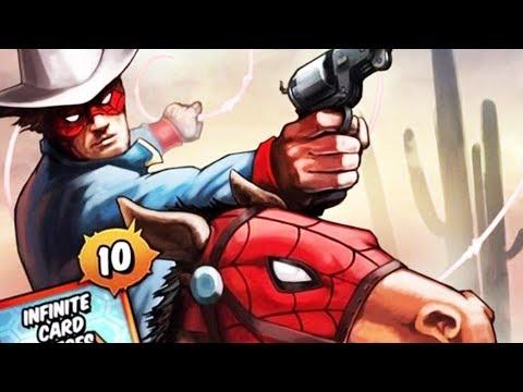 Spider-Cowboy, Guns & A Horse? | MARVEL: Spider-Man Unlimited