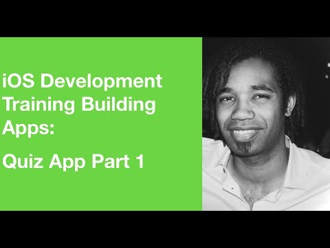 iOS Development Training Building Apps: Quiz App Part 1