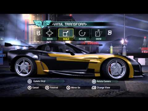 Need for Speed Carbon: Cross' Car Tutorial (NFSMW Intro)