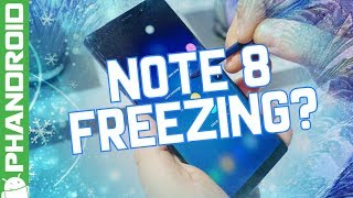 Galaxy Note 8 users are having freezing issues