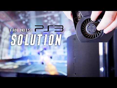Fan noise PS3 solution | How to repair?