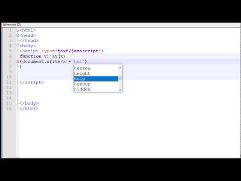 JavaScript Tutorial #15   Using Parameters with Functions