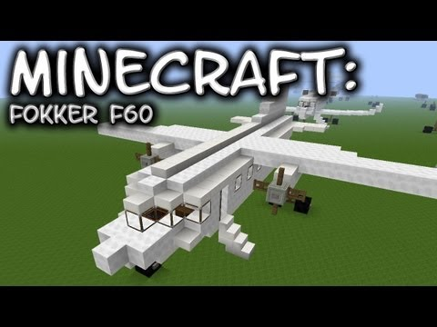 Minecraft: Fokker F50/60 Tutorial