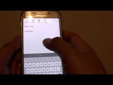 Samsung Galaxy S6 Edge: How to Enable / Disable Auto Spell Check As You Type