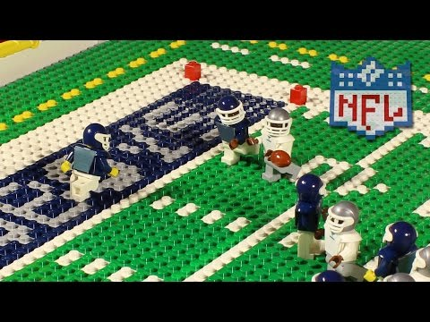 NFL: Chicago Bears @ Dallas Cowboys (Week 3, 2016) | Lego Game Highlights