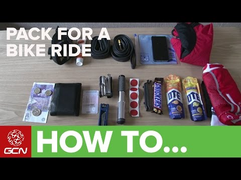 How To Pack For A Bike Ride – GCN's Guide To What To Take On A Ride