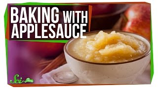 Why Can Applesauce Replace Butter? And Oil? And Eggs?