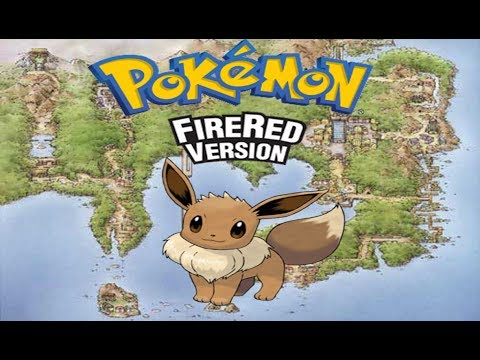 Pokemon Fire red: how to get and evolve Eevee