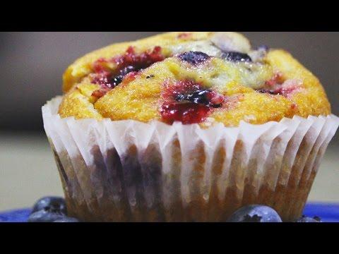 Blueberry Almond Muffin Recipe - SnapSnacks