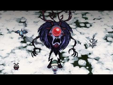 Don't Starve Together: Winter's Feast - Deerclops Boss [No Damage]