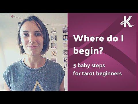 Where do I begin? 5 baby steps for Tarot beginners