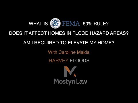 What is FEMA's 50% rule? Am I required to elevate my home?