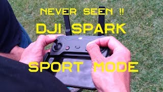 DJI SPARK Sport Mode with Remote Controller. NEVER SEEN !!