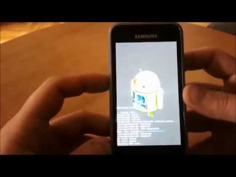 Samsung Galaxy S+ GT-i9001 Restore of a Nandroid Backup - ClockworkMod Recovery