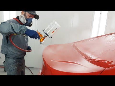 Spraying Waterborne Paint / Tekna Clearcoat Gun