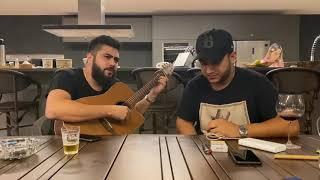 HENRIQUE E JULIANO - Liberdade Provisória (voz e violão) AO VIVO
