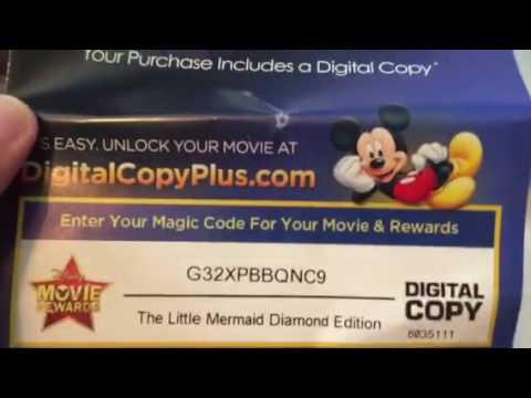 Free digital copy of the little mermaid Disney