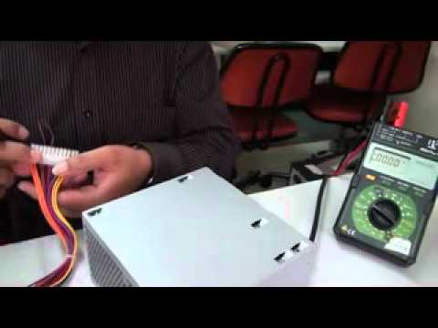 How to check the output voltage of an SMPS