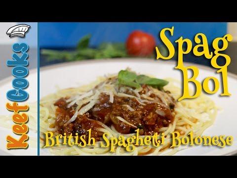 How to Make Spag Bol - Spaghetti Bolonese Recipe