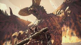 Monster Hunter World! Elder Dragons & Free Dlc Trailer!