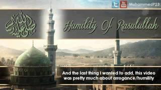 SubhanAllah Humility Of Prophet Muhammad (saw)  -  Shaykh Abdul Nasir Jangda