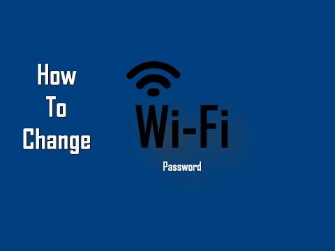 Change WiFi Password - How to Change WiFi Password in Windows 10