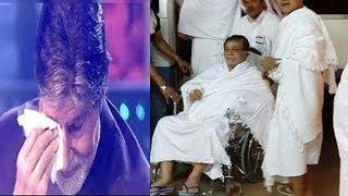 जब कादर खान की इस बात को सुन रोने लगे अमिताभ बच्चन