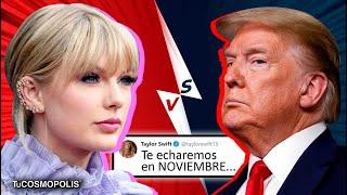 """Taylor Swift AMENAZ*/# Donald Trump: """"Te echaremos en noviembre"""""""