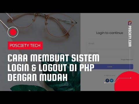 Membuat Sistem Login & Logout PHP