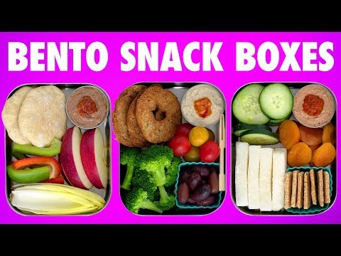 Bento Snack Boxes - Vegan + Gluten Free - Dips & Dippers! - Mind Over Munch