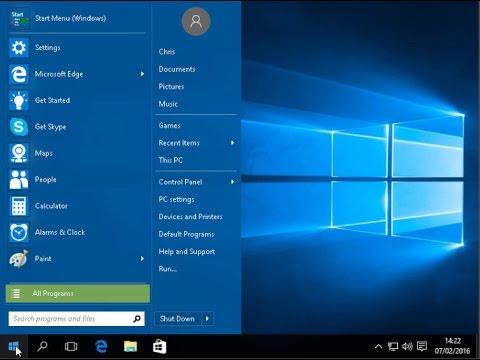 Get Your Windows 7 Start Menu Back in Windows 10