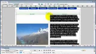 Dreamweaver Insertando Contenido Web Parte 4