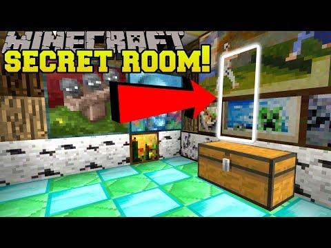 Minecraft: SECRET ROOM IN A SECRET ROOM!! - POPULARMMOS MAP - Custom Map [2]