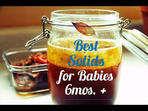 Best Solids for Babies 6mos.+ What I Learned After Being a First-Time Mom