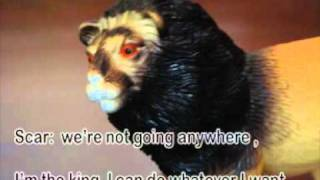 the lion king stop motion.mpg