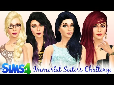The Sims 4 - Four Immortal Sisters Challenge - Pt17  - Duty Calls
